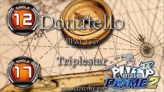 Donatello S12 & S17 | PUMP IT UP PRIME 2 (2018) Patch 2.02