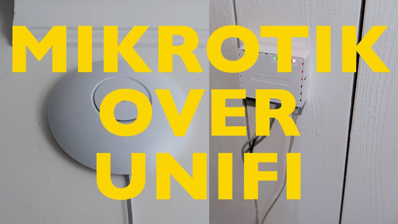 Choosing Mikrotik over Unifi for wireless roaming
