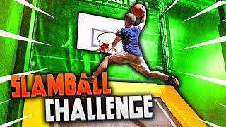 🏀 SLAMBALL CHALLENGE con i TAPPETI ELASTICI! w/Fius Gamer, Ohm e Tatino