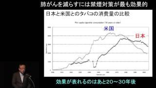 2014年11月8日(土)開催 もっと知ってほしい肺がんのことin仙台 「開会挨...
