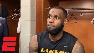 LeBron James on Carmelo Anthony's Lakers potential: 'Not a question to ask me' | NBA Sound