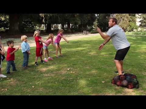 Healthy Kids Workout, Sports for Preschoolers, Outdoor Games and Activities, Kiddie Academy