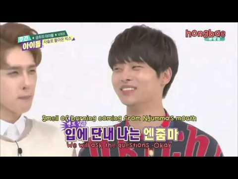 [ENG SUB]151202 Weekly Idol Ep 227 VIXX & Sunggyu MC
