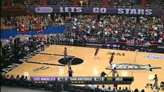 WNBA 2012 Highlights: San Antonio Silver Stars 94-101 Los Angeles Sparks [29.09.2012]