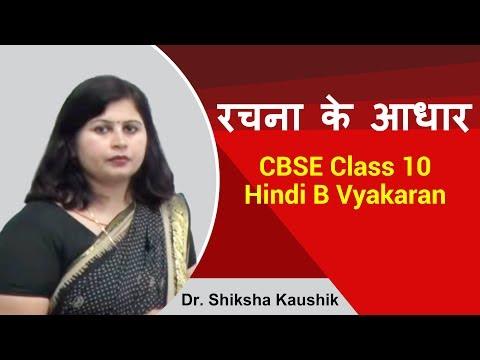 रचना के आधार पर वाक्य भेद vakya bhed Hindi Vayakaran for CBSE  10B by Dr. Shiksha Kaushik