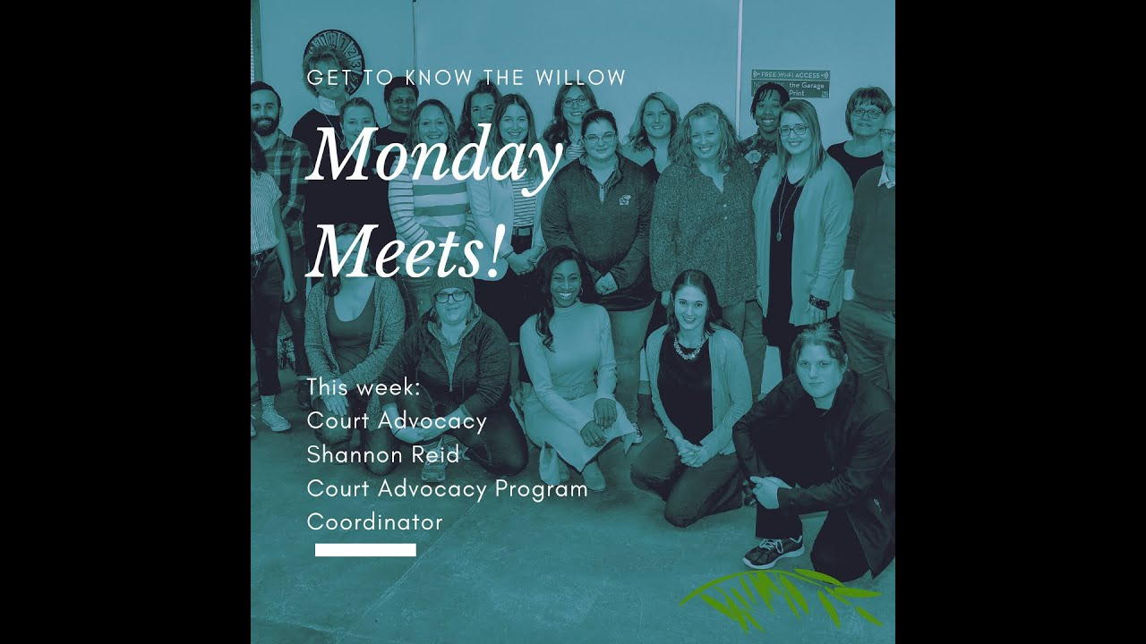 Monday Meets: Domestic Violence and Human Trafficking Court Advocacy with Shannon Reid
