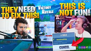 Ninja & Sypher's Thoughts on Fortnite's New Matchmaking - Duos w/ Ninja (Fortnite Battle Royale)
