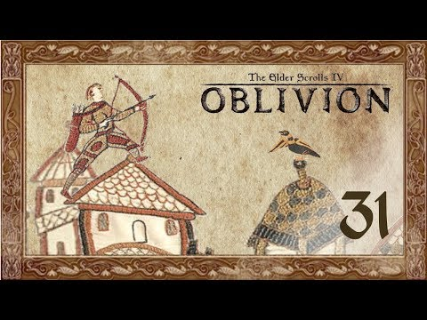 Let's Play Oblivion (Modded) - 31 - It's Grim Up North Cyrodiil