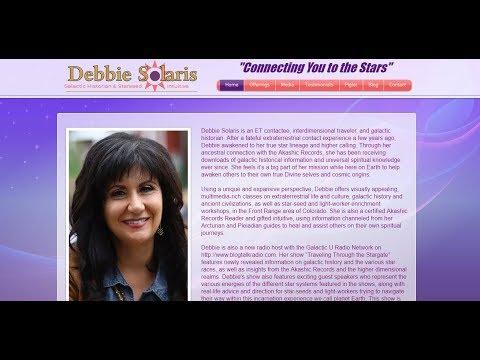 Debbie Solaris - Galactic Historian & Starseed Intuitive