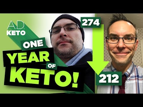 One year of keto | My 62-pound transformation!
