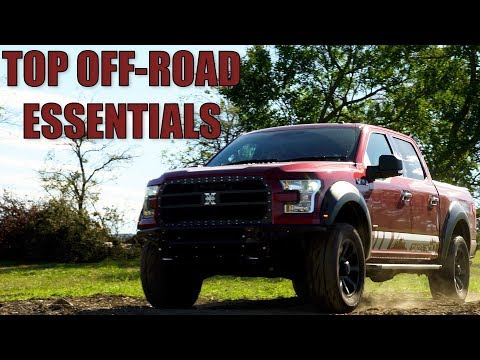 Top 5 Off Road Essentials For Beginners Youtube