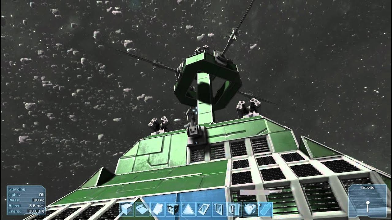 space engineers asteroid ship - photo #28