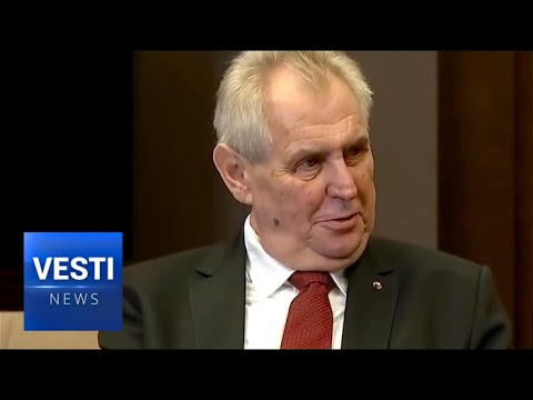 Czech President Bucks EU Dictates and Visits Russia to Discuss Sidestepping Sanctions