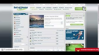 bet-at-home Erfahrungen - Test von fussballwetten.info + sportwettenanbieter.com