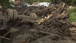 Аномальные оползни в Колумбии уничтожили 120 домов (новости)