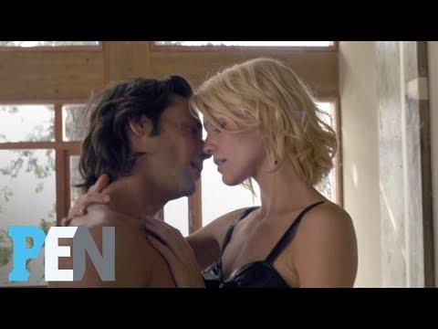 Battlestar Galactica's Tricia Helfer & James Callis On First OnScreen Kiss  Entertainment Weekly