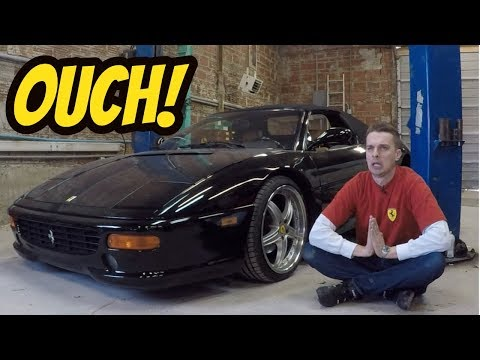 Here s What Broke on My Cheap Ferrari F355 OUCH