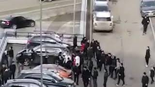 Массовая драка на западе Москвы
