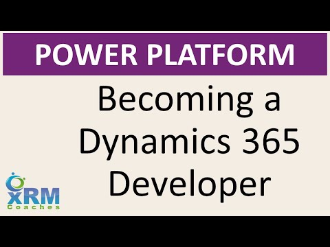 Becoming a Dynamics 365 Developer