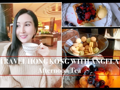【HONG KONG TRAVEL GUIDE】|| Enjoy Afternoon Tea with Harbour View|| Tiffin @ Grand Hyatt