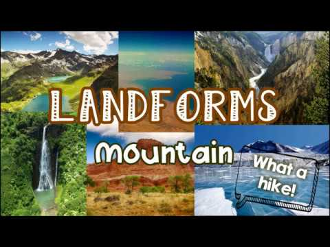 Landforms Mountain