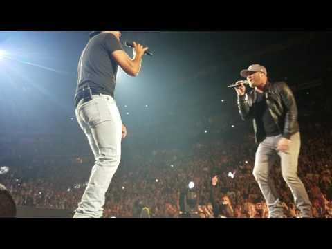 Luke Bryan & Cole Swindell *Rollercoaster* HFE Nashville 5/6/17
