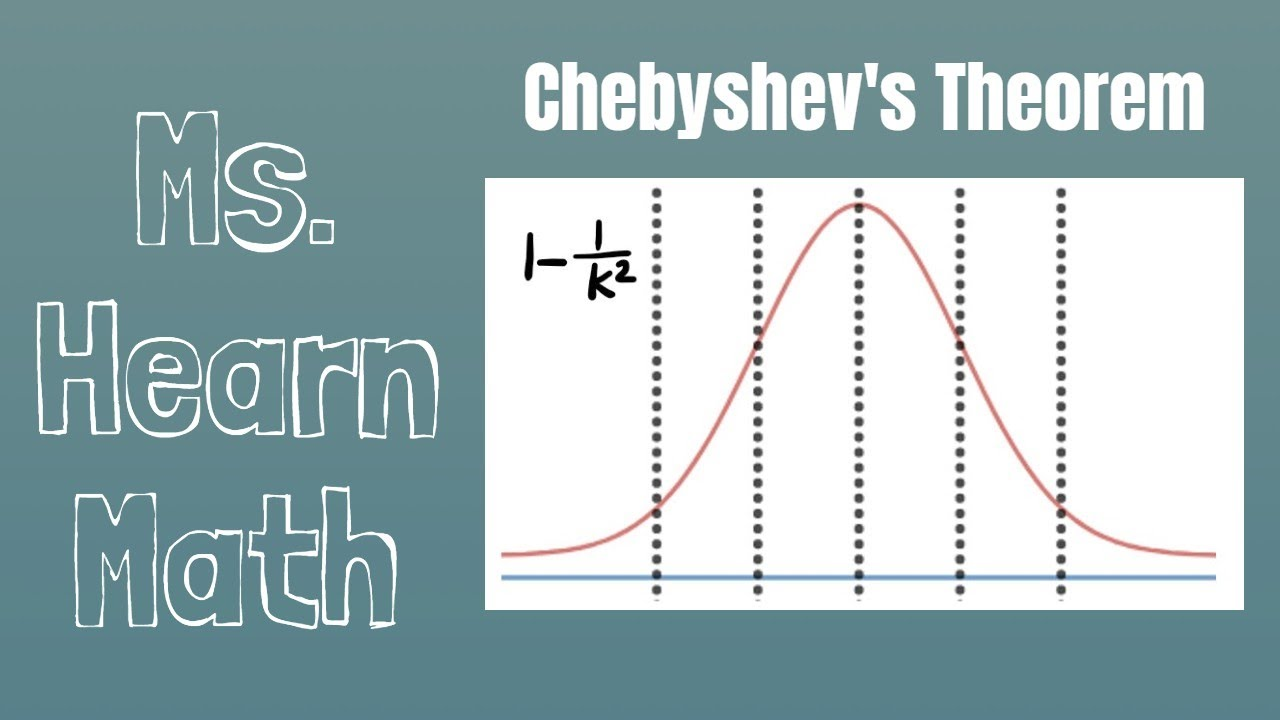 Chebyshev's Theorem and an application - YouTube