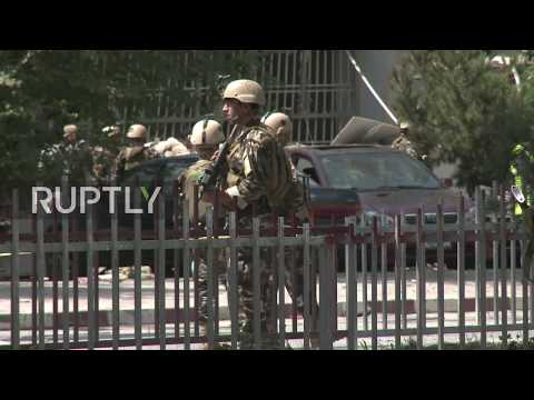 Afghanistan: Suicide bomb attack near US Embassy in Kabul kills at least 5