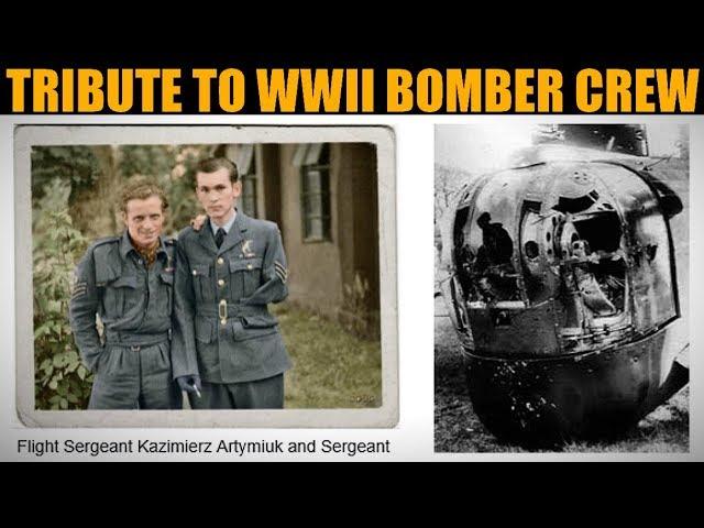 Tribute To K.Artymiuk & B.Godlewski For 1943 Bomber Raid