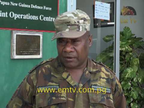 PNG Defense Force: 150 Soldiers Ready for Hela Operation