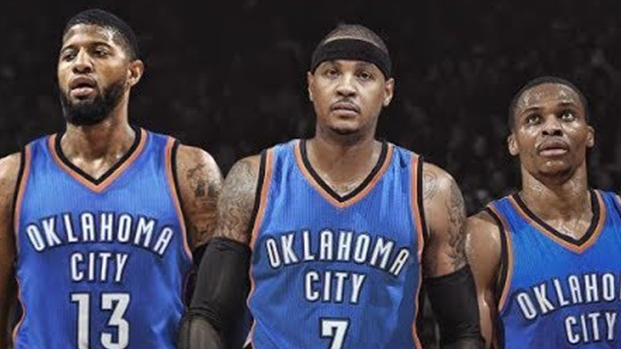 06356f76d62 OKC Thunder Big 3 Breaking Up! Paul George Is On His Way Out  - YouTube