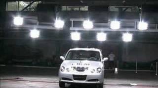 Chinese car crash test - Chery QQ6 Cncap