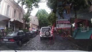 По Тбилиси на машине