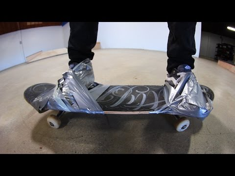 Thumbnail: SHOES DUCT TAPED TO THE BOARD | STUPID SKATE EP 80