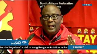 SAFTU to embark on its first national strike