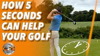 HOW 5 SECONDS CAN HELP YOU PLAY BETTER GOLF