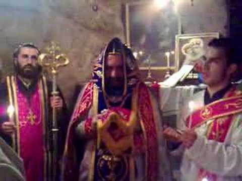 Holy mass in Aramaic - Jerusalem 5