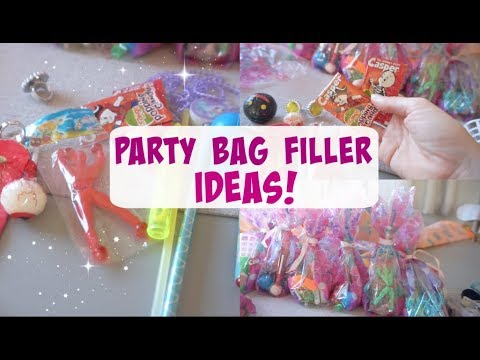 PARTY BAG FILLER IDEAS! | CHEAP AND CHEERFUL!