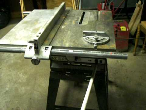 Montgomery Ward 12 Quot 305mm Table Saw Bench Saw Model