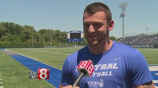 CCSU Football player donates bone marrow to help save infant