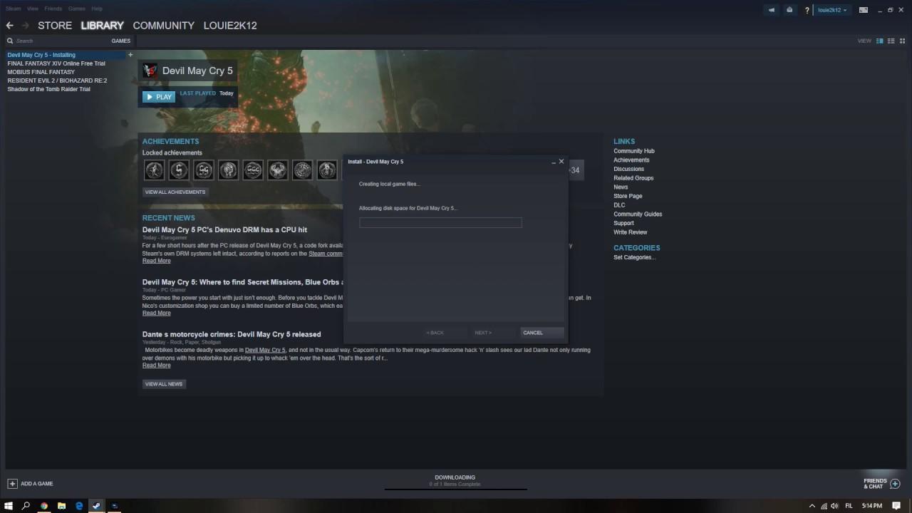 claime / redeem AMD reward devil may cry 5