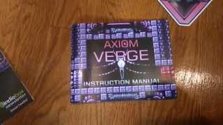axiom verge indiebox contents instruction manual