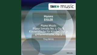 Klavierstücke für Kinder, Op. 31: 7 Piano pieces: No. 3. Andantino