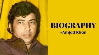 Sholay Dialogues se Famous Amjad Khan Life Story | Biography