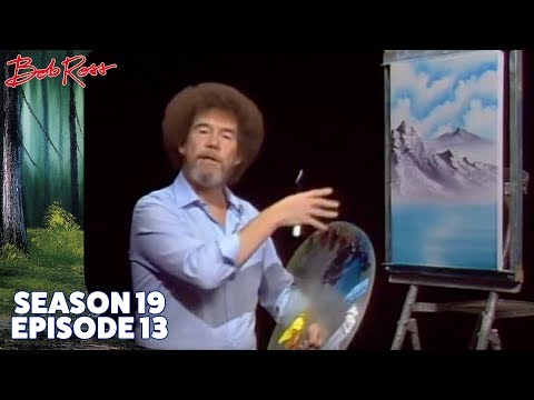 Bob Ross - Valley of Tranquility (Season 19 Episode 13)