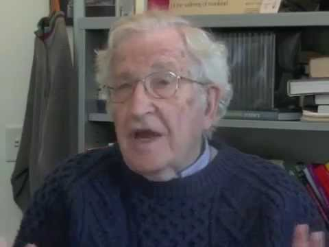 Noam Chomsky on the Libertarian, Republican and Democratic parties