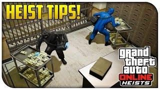 GTA 5 HEISTS TIPS & TRICKS! - Best Ways To Get Prepared & Stay Alive! (GTA V)