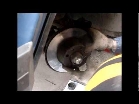 Как заменить переднюю ступицу на ваз 2107
