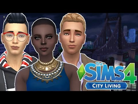 Sims 4 City Living: Let's Play | Part 2 | Karaoke!