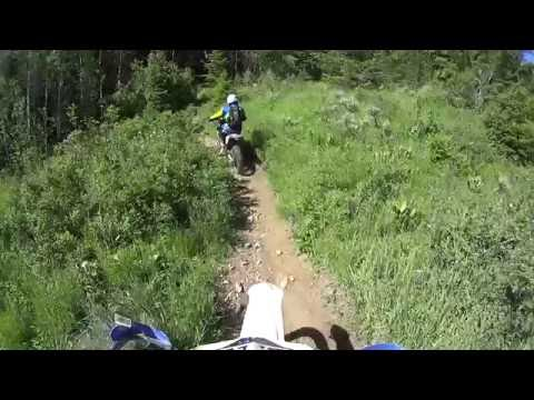 The BEST Motorcycle Trails - American Fork Canyon UT